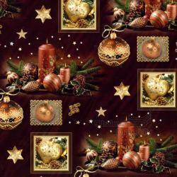Vánoční balící papír - arch 70*100cm - motiv 17687