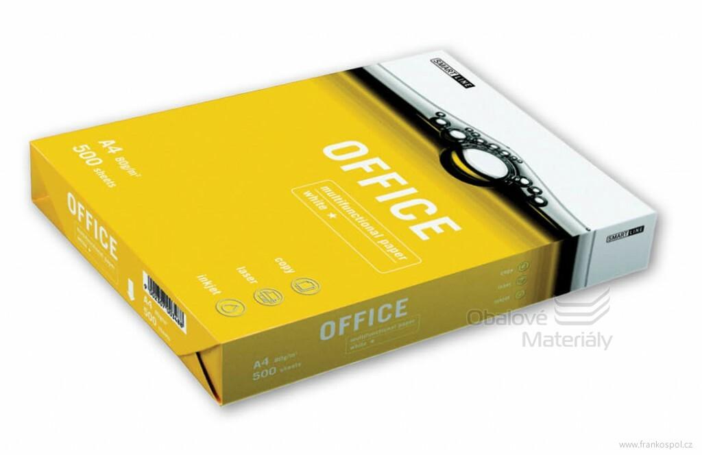"""Kancelářský papír OFFICE Paper A4 80g - 500 listů """"C"""" bílý"""