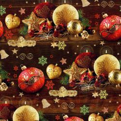 Vánoční balící papír - arch 70*100cm - motiv 24877