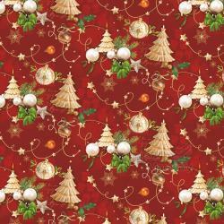 Vánoční balící papír - arch 70*100cm - motiv 36722