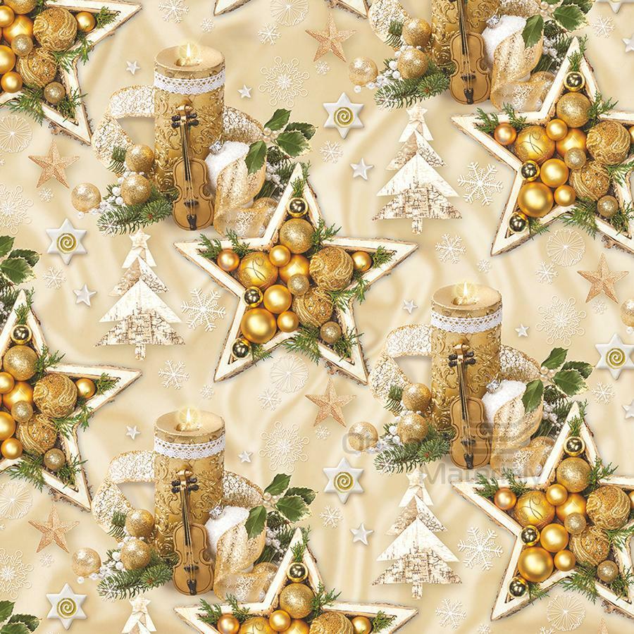 Vánoční balící papír - arch 70*100cm - motiv 36724