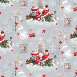 Vánoční balící papír - arch 70*100cm - motiv 36728