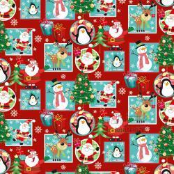 Vánoční balící papír - arch 70*100cm - motiv 40833