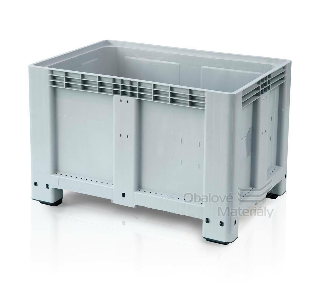 Plastový bigbox 1200*800*800 mm, 4 nohy