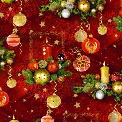 Vánoční balící papír - arch 70*100cm - motiv S-183