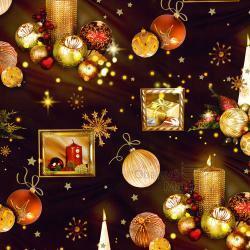Vánoční balící papír - arch 70*100cm - motiv S-186