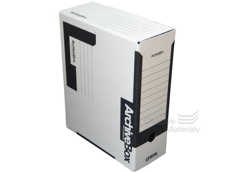 Archiv box A4 110mm - černý