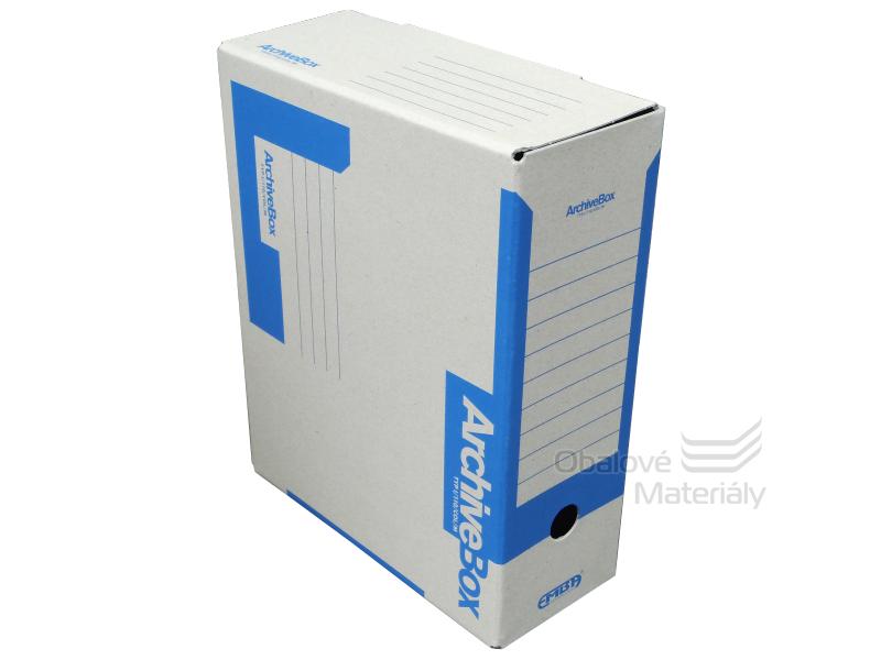 Archiv box A4 110mm - modrý