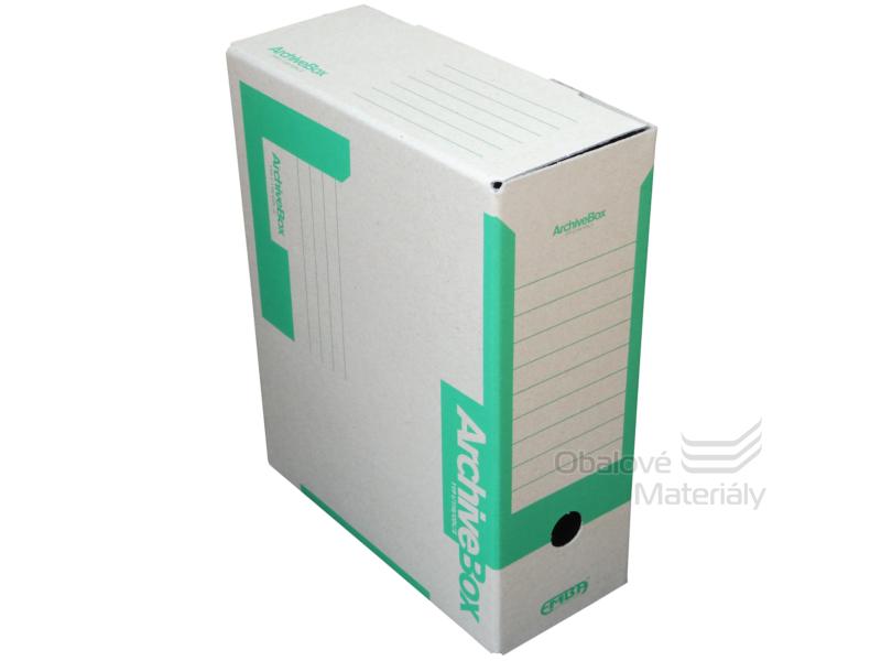 Archiv box A4 110mm - zelený