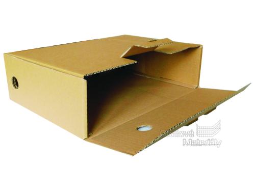 Archivační box na papírové dokumenty 345*245*100 mm