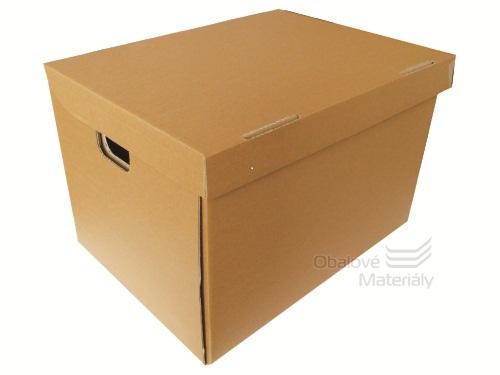 Archivační krabice na šanony 470*346*310 mm