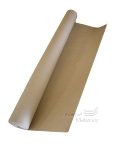 Balící papír v roli šíře 100 cm, návin 50 m - recykl.