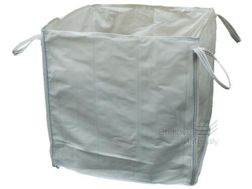 Big bag 95*95*195 cm, 4 popruhy, nosnost 1000 kg