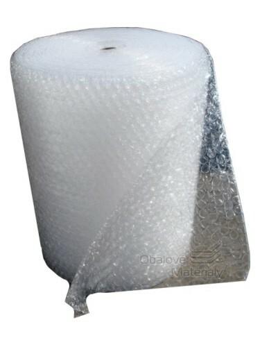 Bublinková fólie - velké bubliny, průměr 3 cm, role 100cm*50m