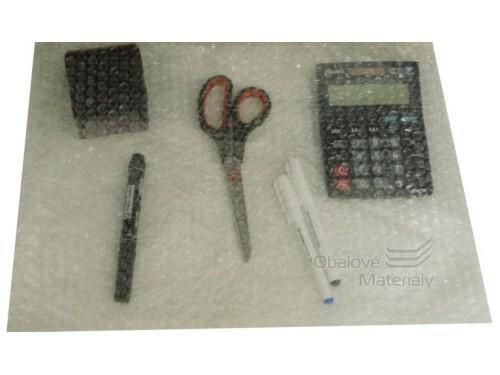 Pytel z bublinkové fólie 800*500 mm 2-vrstvý, minimální odběr 500 ks