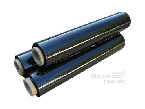 Streč fólie černá, 2,4 kg