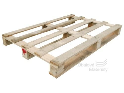 Paleta dřevěná obyčejná  POUŽITÁ 120*80*13 cm