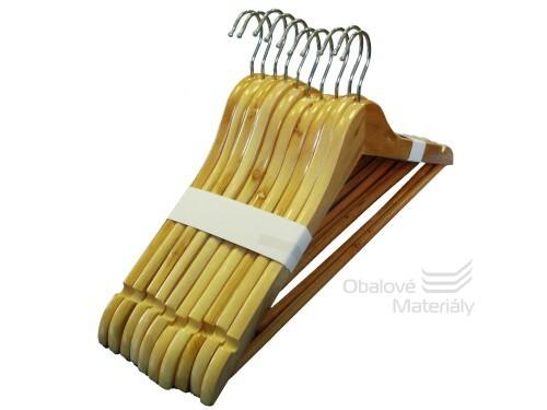Ramínka dřevěná, lakovaná, 45 cm, balení 10 ks