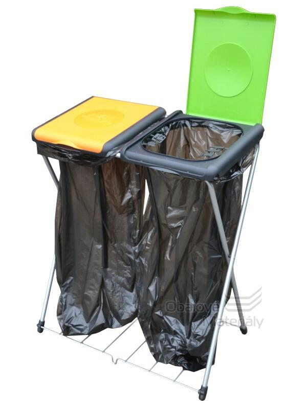 DVOJITÝ Stojan na odpadkové pytle