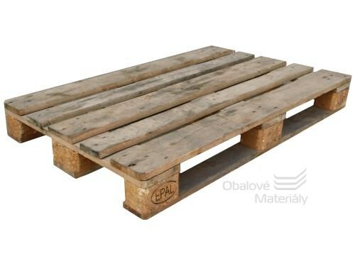 EURO paleta dřevená 120*80 cm použitá