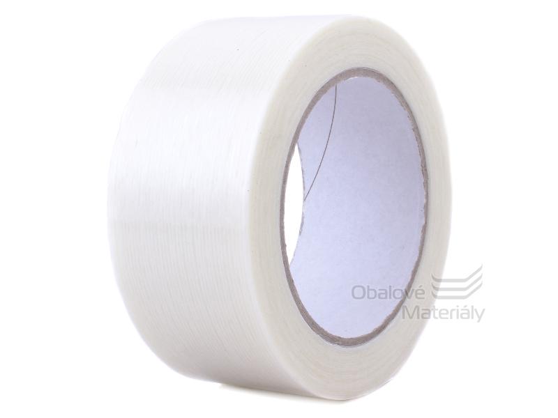 Lepící páska s podélnými skelnými vlákny 48mm*50m filamentní