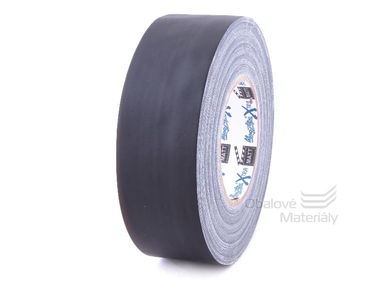 Universální lepící páska 50 mm*50 m, černá MATNÁ extra kvalita