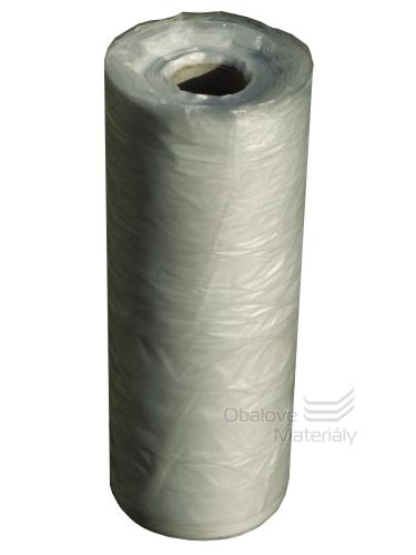 HDPE hadice na oděvy, vhodná pro čistírny, transparentní, 600mm, 10kg