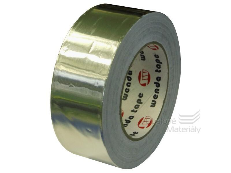 Hliníková lepící páska, materiál hliník, 50mm*50m