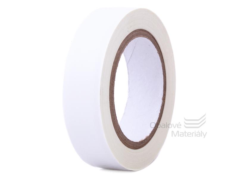 EMOS Izolační páska PVC 15/10 bílá