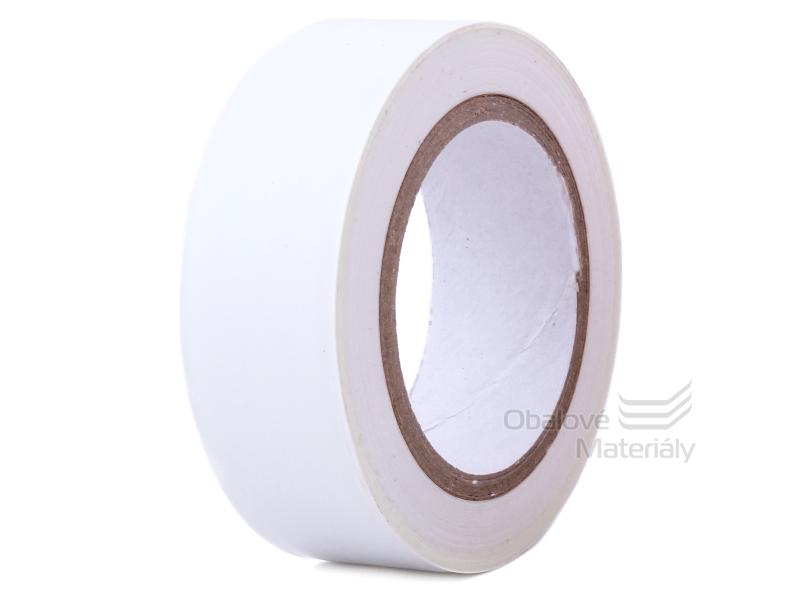 Izolační PVC páska 19 mm * 10 m, bílá