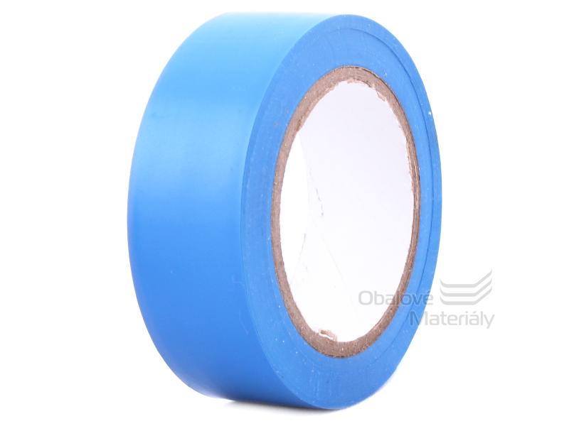 Izolační PVC páska 19 mm * 10 m, modrá
