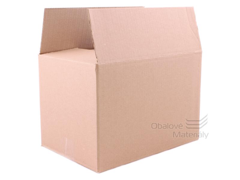 Kartonová krabice 300*200*200 mm, klopová 3VL