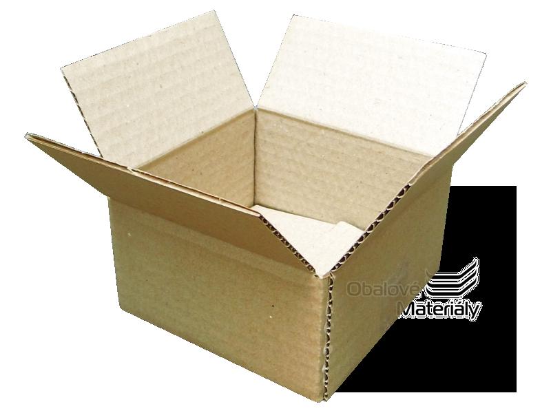 Papírová krabička 100*100*50 mm, 3-vrstvá