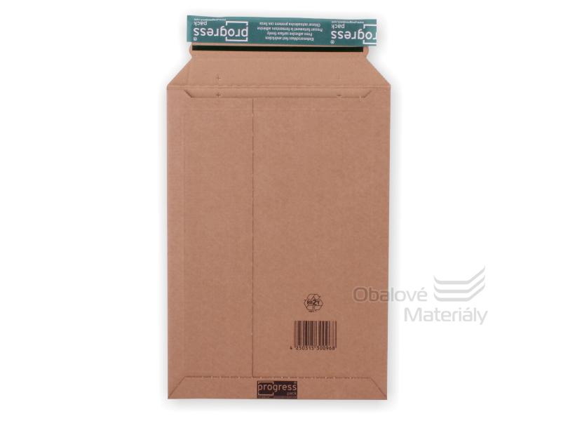 Zásilková obálka PROGRESS PACK - A4, 237*337 mm s lepící klopou