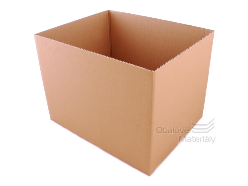 Kartonový box 526*409*394 mm, otevřený bez horní klopy