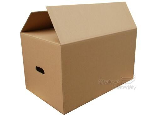 89478f775 Kartonová krabice na stěhování 600*380*350 mm, 5-vrstvá