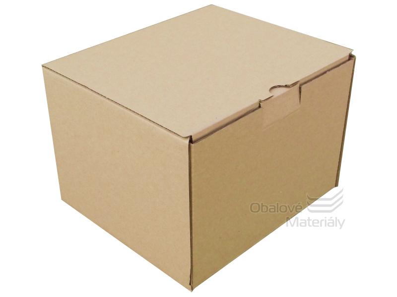 Papírová krabice 220*200*160 mm, 3-vrstvá