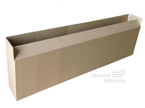 Papírová krabice 1200*200*200, mm 3-vrstvá lepenka
