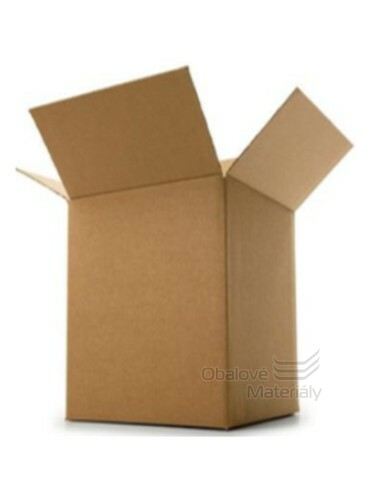 Kartonová krabice 500*350*750 mm, 5-vrstvá lepenka, nosnost 40kg