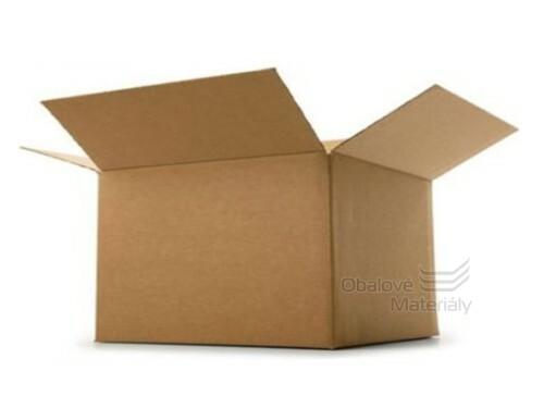 Papírová krabice 800*400*400 mm, 3-vrstvá lepenka