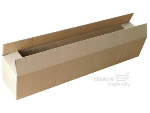 Papírová krabice 800*150*150 mm, 3-vrstvá lepenka