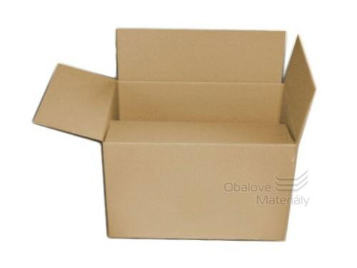 Poštovní krabice 330*240*200 mm formát A4, 3-vrstvá