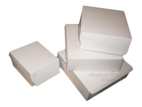 Papírová krabice na dort 300*300*100 mm