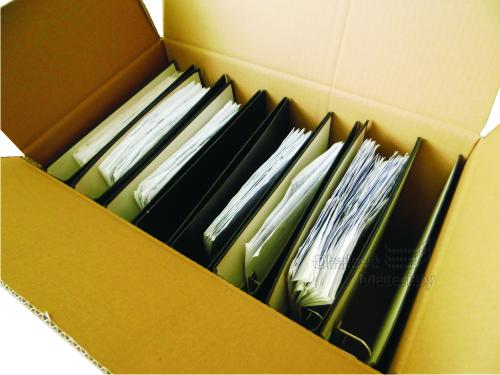 Kartonová krabice na knihy 490*290*350 mm