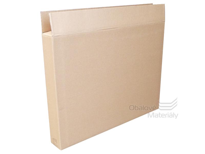 Klopová krabice 800*100*800 mm, 3- vrstvá lepenka