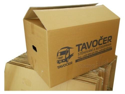 Stěhovací krabice použitá, 600*380*350 mm, 5-vrstvá