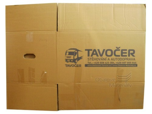 Stěhovací krabice kartonové použité