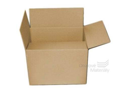 Kartonová krabice 400*400*300 mm, 3-vrstvá