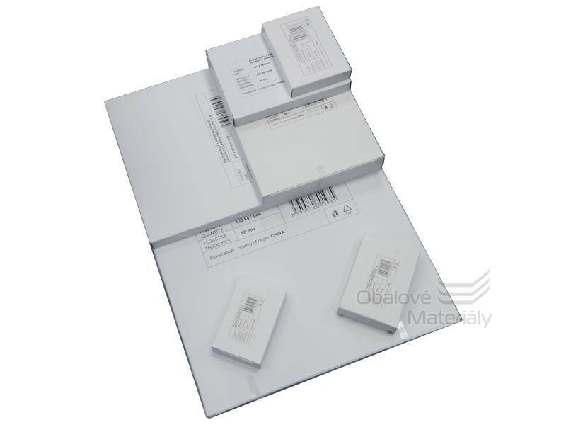 Laminovací fólie 54*86 mm/150 mic - lesklá STANDARD