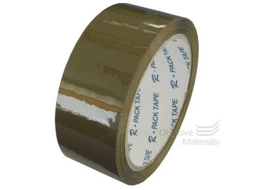 Polypropylenová lepicí páska 38mm x 66m, hnědá
